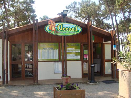 accueille du camping en Vendée