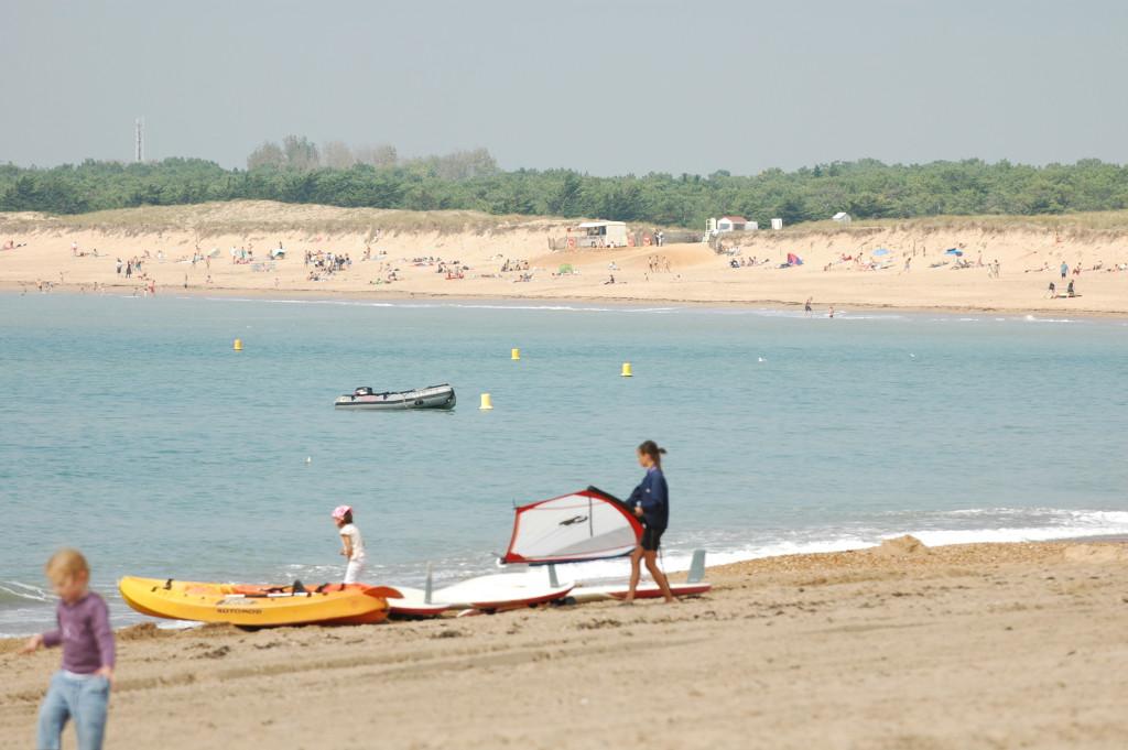Camping proche plage de Saint Hilaire de Riez
