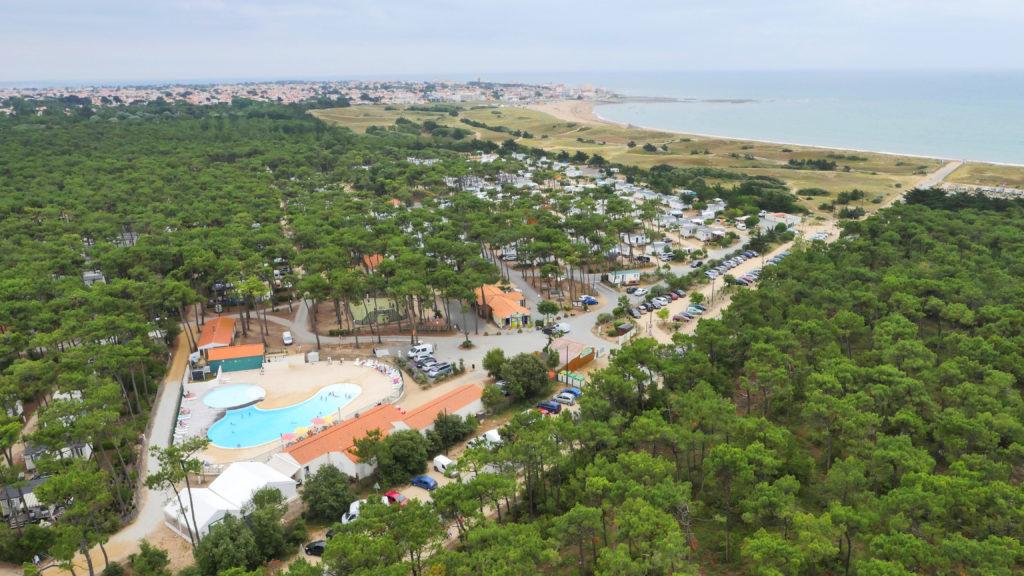 Camping 3 étoiles proche plage et Saint Gilles Croix de Vie