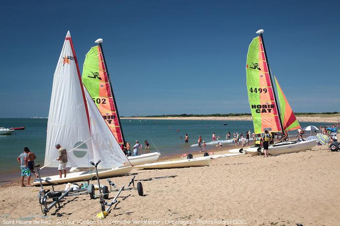 Location camping proche plage et bases nautiques à Saint Hilaire de Riez