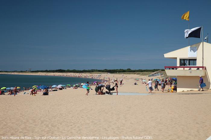 Direction la Plage de Riez, un camping 3 étoiles proche plage à Saint Hilaire de Riez
