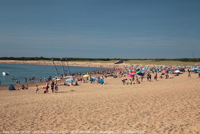 Bienvenue à la Plage de Riez, un camping avec emplacement et accès direct plage de Saint Hilaire de Riez