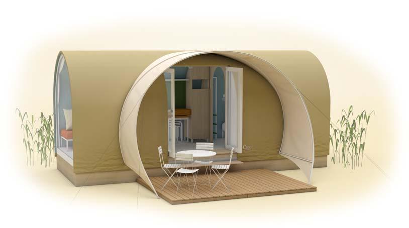 location atypique au camping