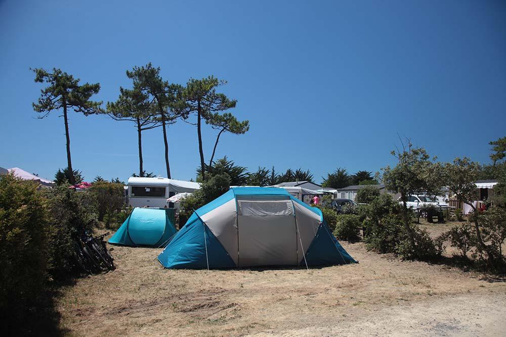 emplacement du camping St Gilles Croix de Vie