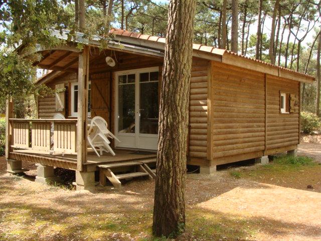 location chalet au camping authentique